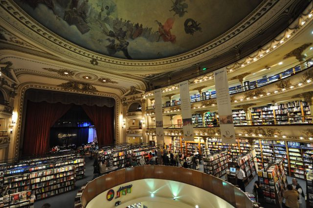 By Jorge Láscar from Australia (El Ateneo bookshop) [CC BY 2.0 (http://creativecommons.org/licenses/by/2.0)], via Wikimedia Commons